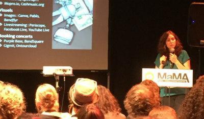 MaMA Event 2016 – « Pléthore d'outils pour les artistes ? Construire sa propre stratégie »