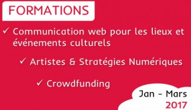 ★ Formations : 2017, on arrive ! ★