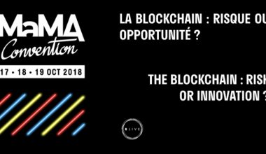 MaMA Convention 2018 – La blockchain : risque ou innovation ?