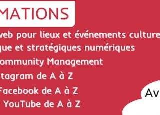 ★ Formations printemps 2019 ★